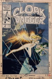 Cloak and Dagger #6 Cover by Leonardi and Austin