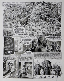 Superdupont – Operation Camenbert – Page 42 – Jean Solé – Gotlib