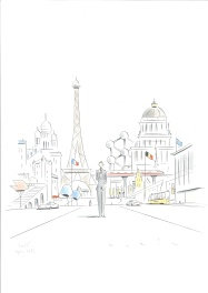 Avril François illustration Paris-Bruxelles