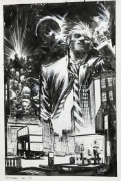 Hellblazer City of Demons #1 Cover