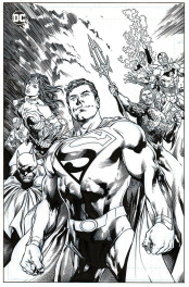 Superman JLA Justice League - Inkwell Awards - Kevin Conrad
