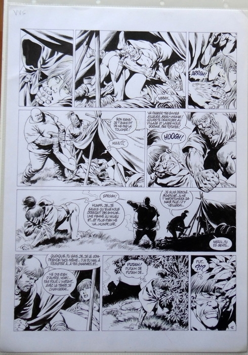 Vae Victis T6 P16 by Jean-Yves Mitton - Comic Strip