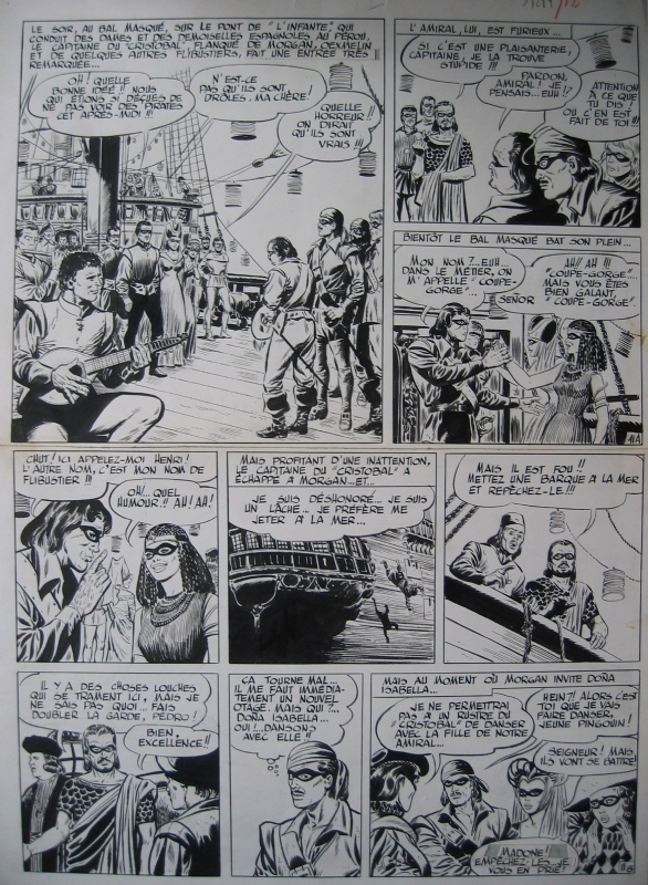 Forton Gérald - Capitaine Morgan by Gérald Forton - Comic Strip