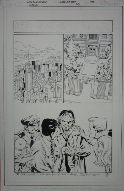 Issue 50, page 28, Fables, Mark Buckingham by Mark Buckingham, Andrew Pepoy - Comic Strip