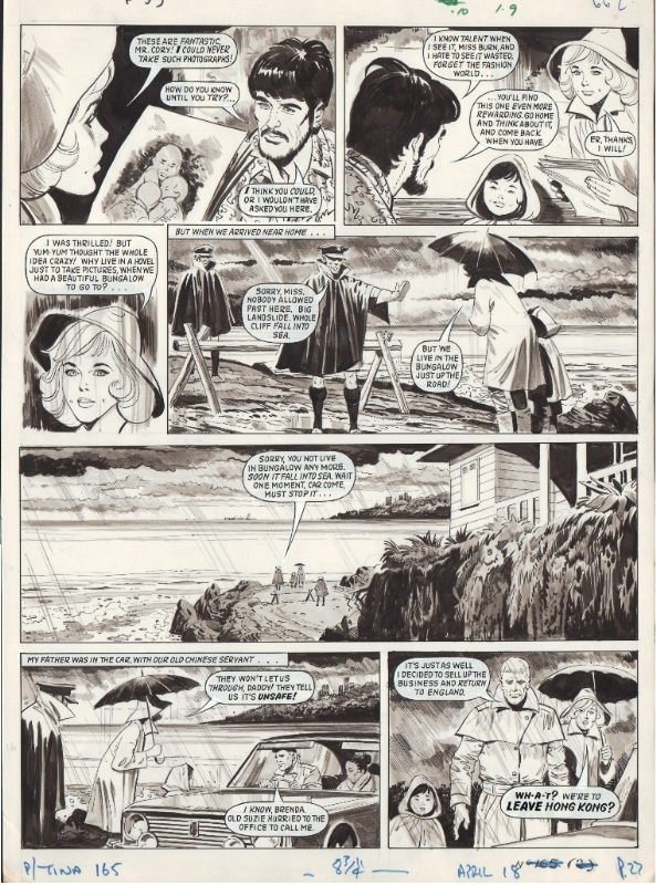 Georges LEVIS (JEAN SIDOBRE) : Planche My Chum Yum Yum 18 Avril 1970 by Georges Lévis - Comic Strip