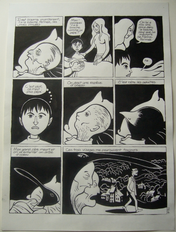 David B - L'Ascension du Haut-Mal - T2 p24 by David B. - Comic Strip