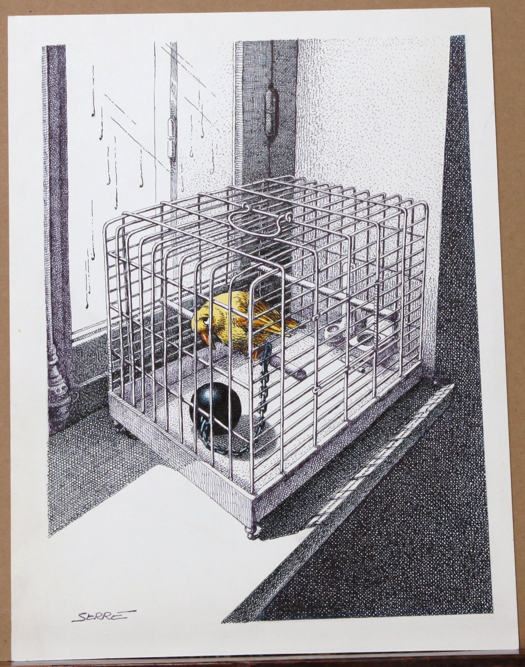 ouvrez ouvrez la cage aux oiseaux par claude serre. Black Bedroom Furniture Sets. Home Design Ideas