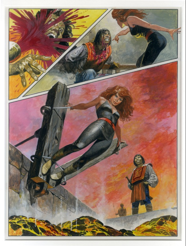 Don Lawrence : planche originale ' Storm ' by Don Lawrence - Comic Strip