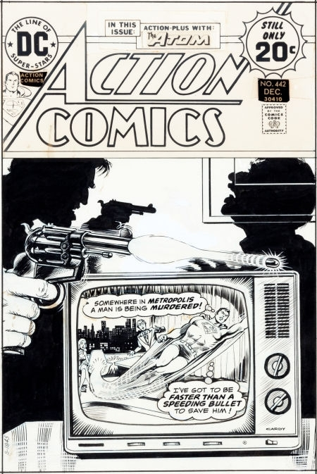 Action Comic by Nick Cardy - Comic Strip