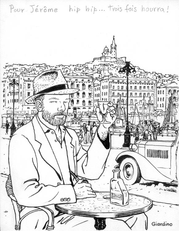 Max Fridman à Marseille by Vittorio Giardino - Illustration