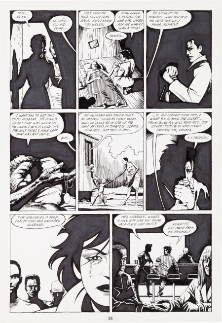 Jaime Hernandez, Love and Rockets, Toyo's Revenge page 3 by Jaime Hernandez - Comic Strip