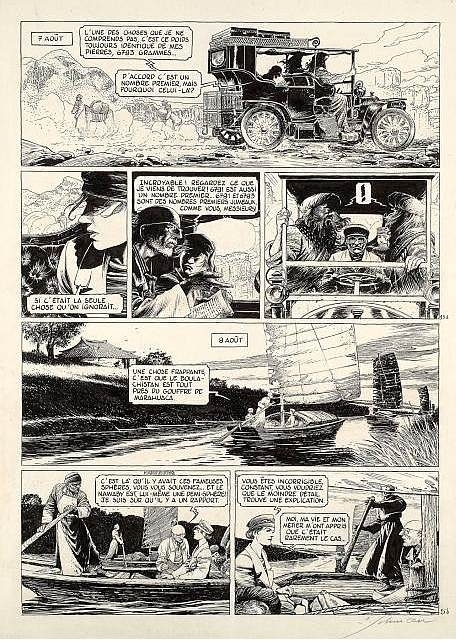 La théorie du grain de sable - tome 2 by François Schuiten - Comic Strip
