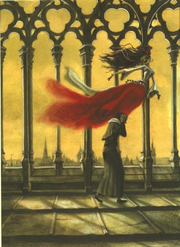 Notre Dame De Paris Par Benjamin Lacombe Illustration
