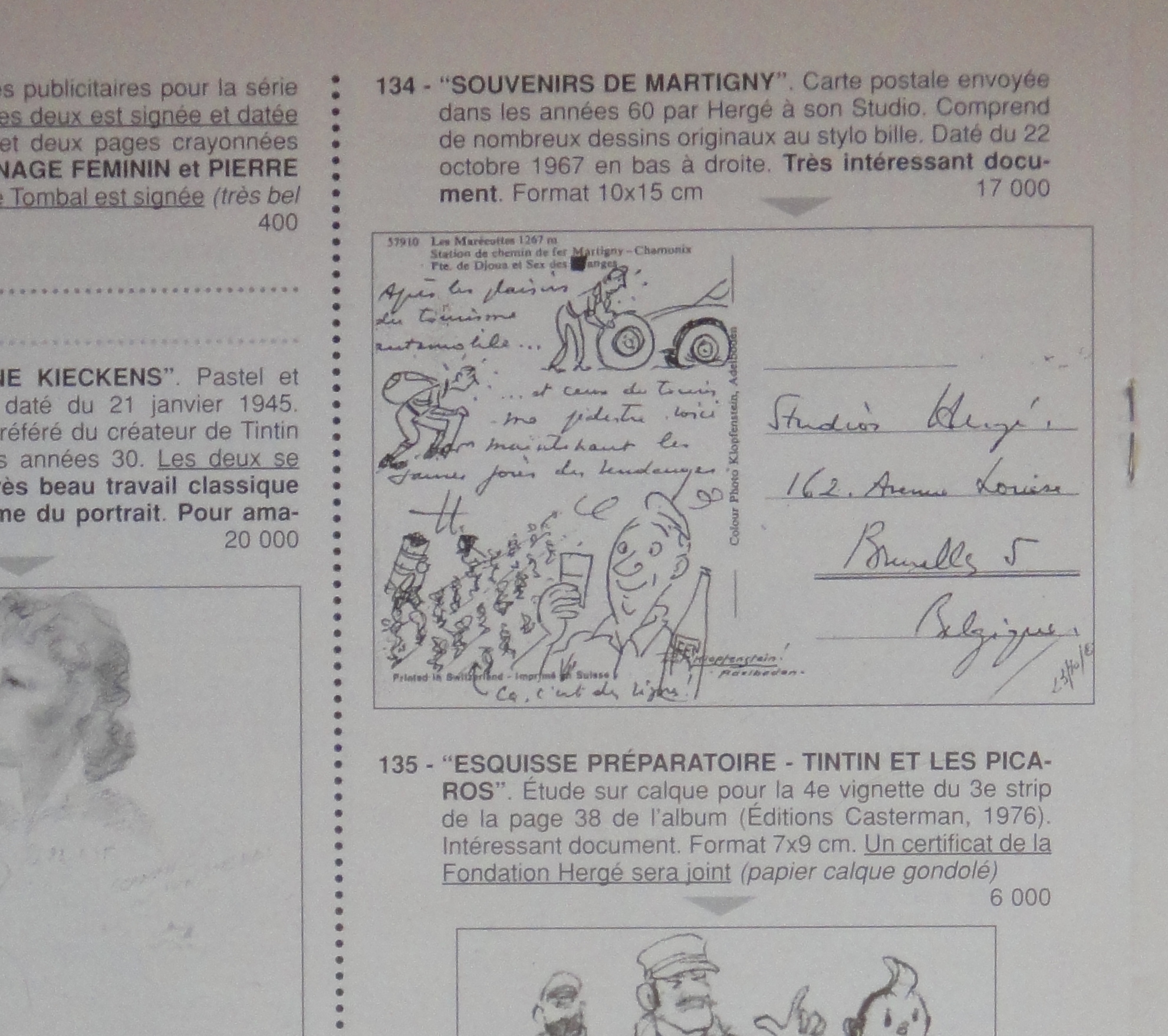 1967 autoportraits vacances en suisse par herg illustration - Vente par internet suisse ...