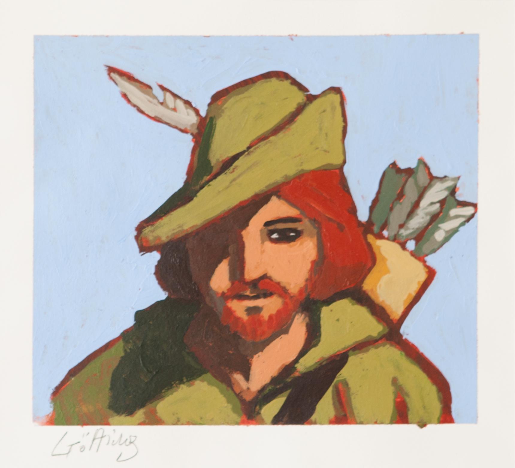 Robin des bois par JeanClaude Götting  Illustration ~ Parodie Robin Des Bois