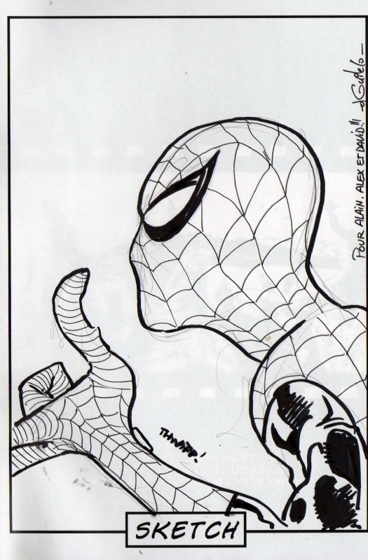 Spiderman by Guile Sharp, Guile - Sketch