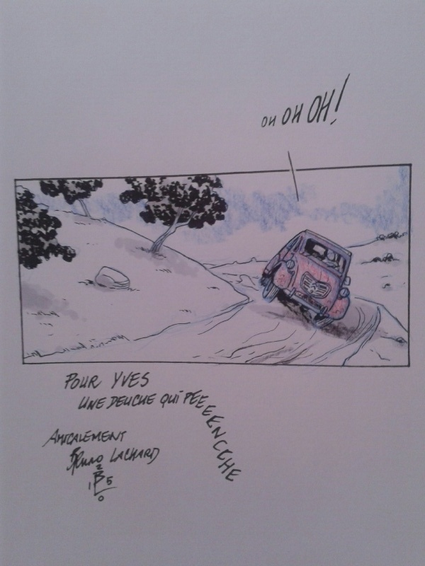 Voitures de Légende - Un Amour de 2CV by Bruno Lachard - Sketch