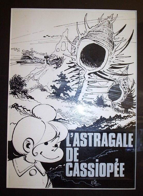 Isabelle n° 4, « L'Astragale de Cassiopée », 1976. by Will, André Franquin, Raymond Macherot, Yvan Delporte - Original Cover