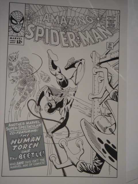 Spiderman by Steve Ditko, Stan Lee - Original Cover