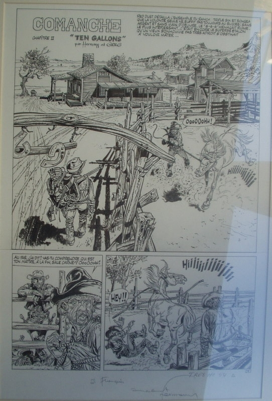 Comanche by Hermann - Comic Strip