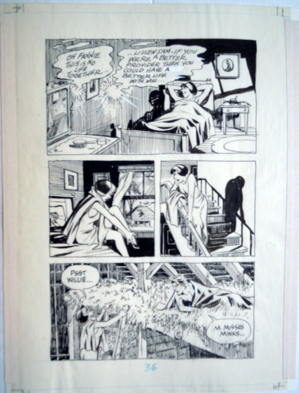 A contract with god - cookalein page 36 by Will Eisner - Comic Strip