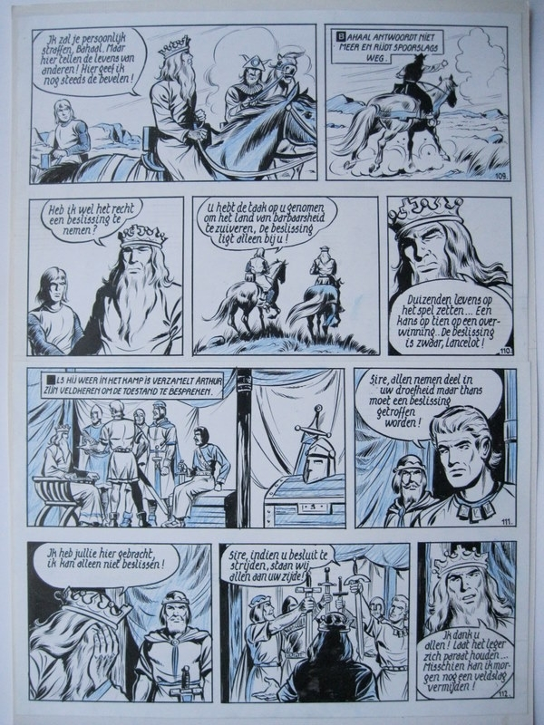 Plaat 28 by Willy Vandersteen, Karel Biddeloo - Comic Strip