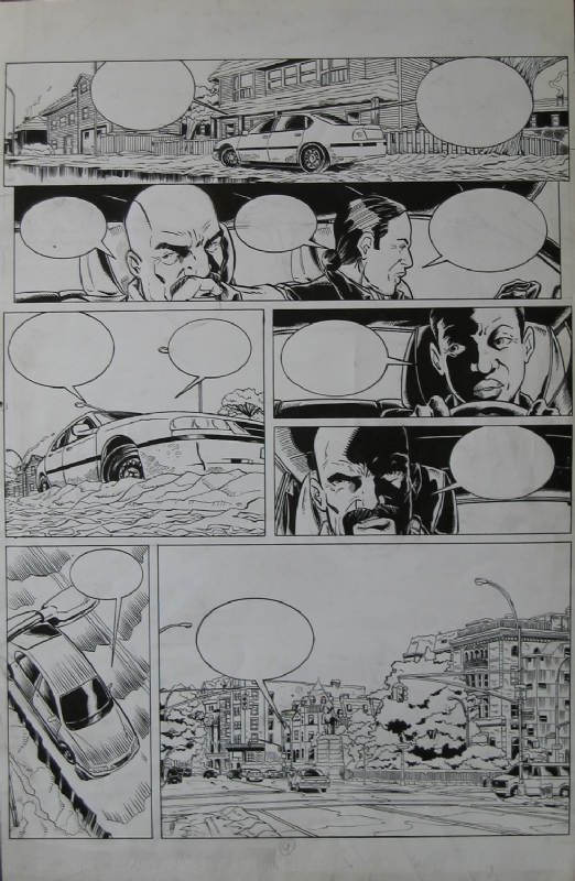 Brooklyn 62nd Tome 3 p.04 by Michel Koeniguer - Comic Strip