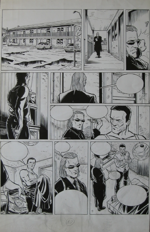 Brooklyn 62nd Tome 3 p.10 by Michel Koeniguer - Comic Strip