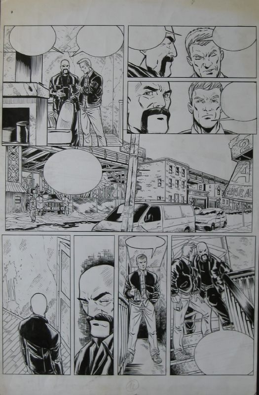 Brooklyn 62nd Tome 3 p.12 by Michel Koeniguer - Comic Strip