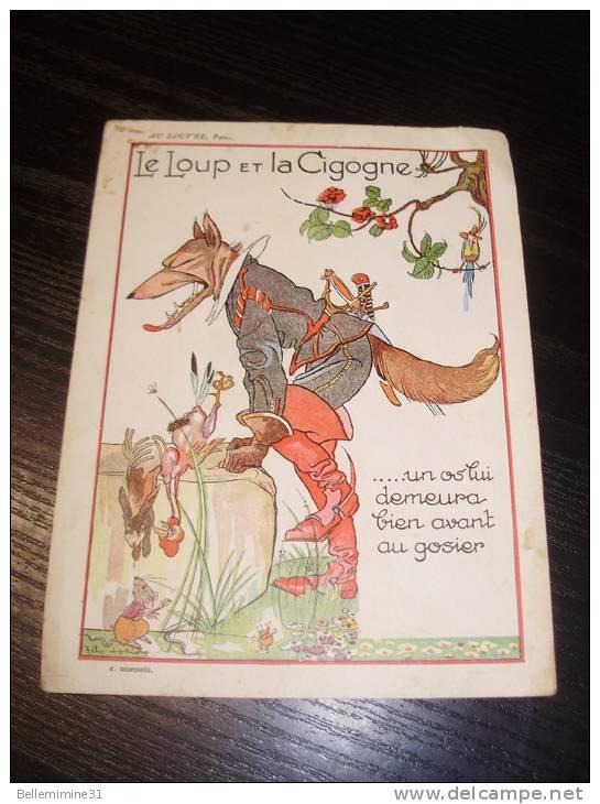 Sage Illustration Le loup et la cigogne ...