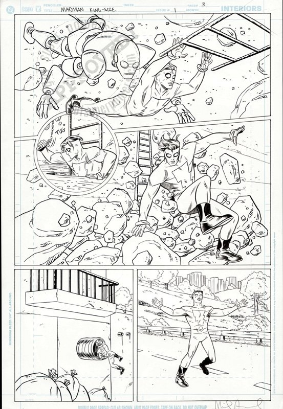 Mike Allred Madman Kingsize special pg. 3 by Mike Allred - Comic Strip