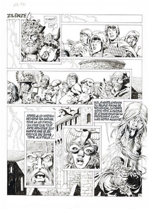 Chroniques  barbares T2 by Jean-Yves Mitton - Comic Strip