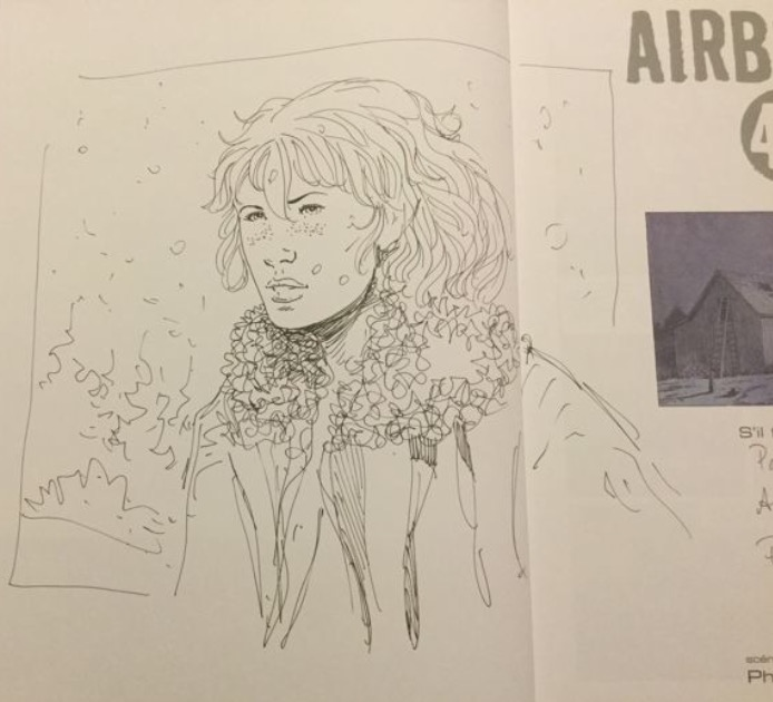 Dédicaces Airborne 44 Tome 5 by Philippe Jarbinet - Sketch