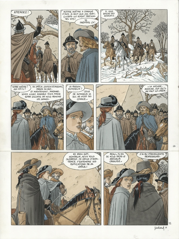 Les 7 vies de l'Epervier by André Juillard, Patrick Cothias - Comic Strip