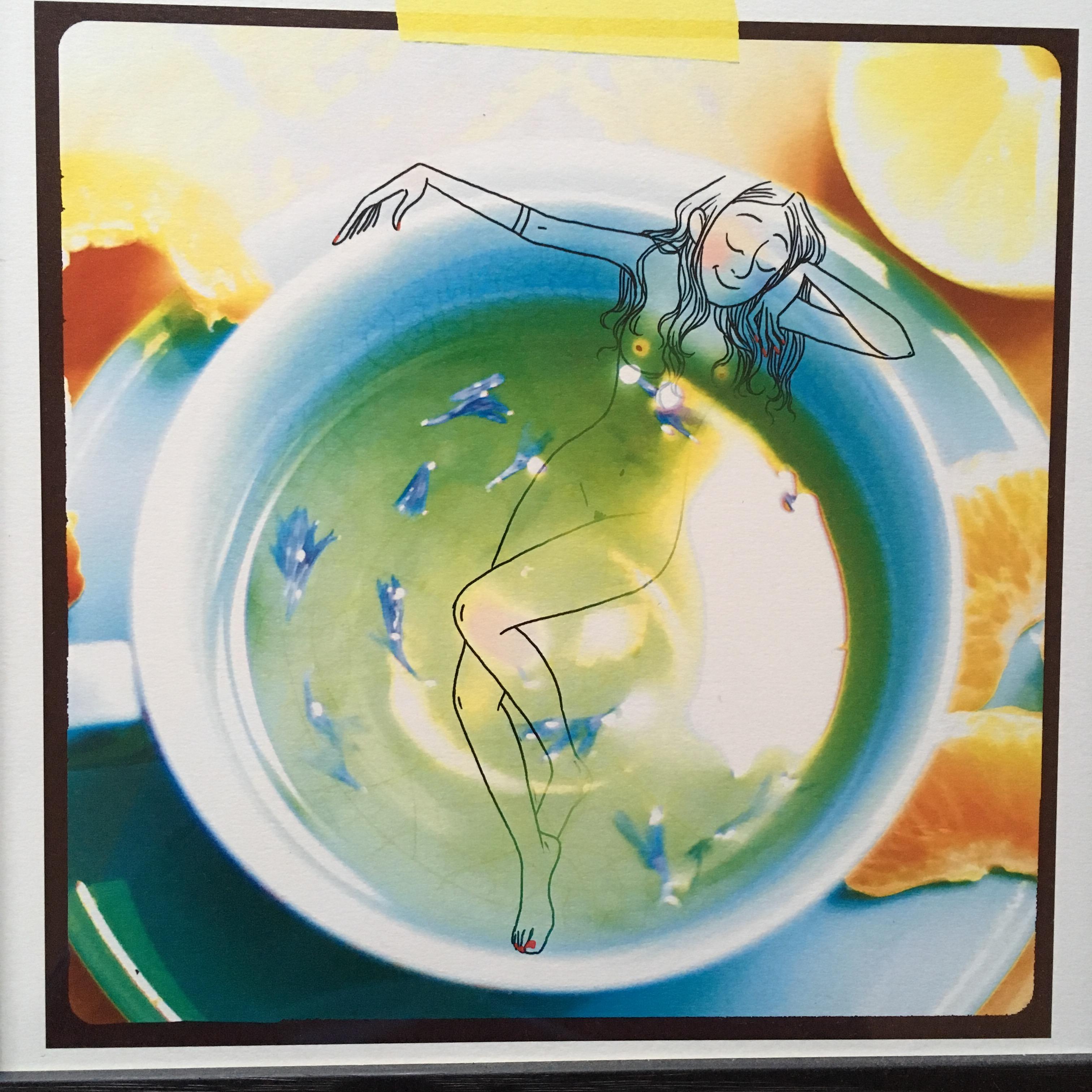 La terre est bleue comme une orange par Margaux Motin - Illustration