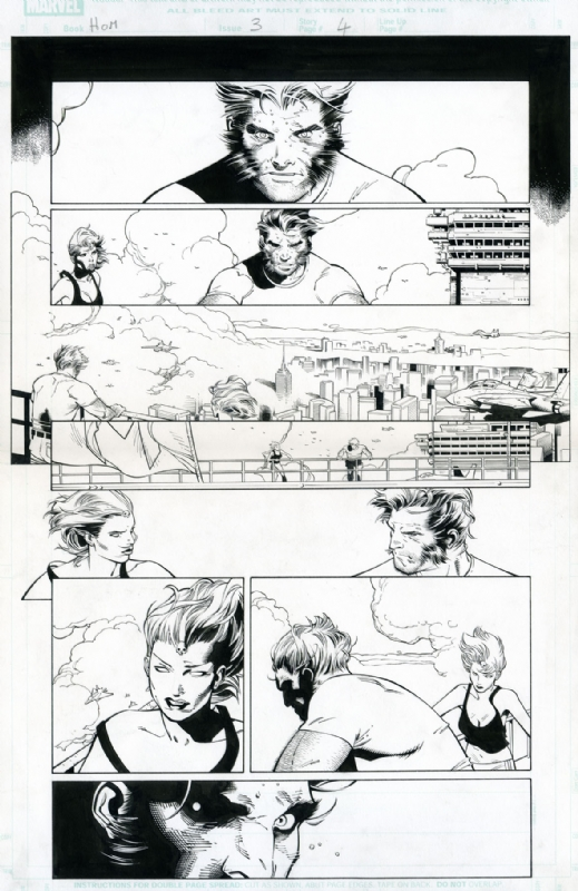House of M - Wolverine & Mystique by Olivier Coipel, Tim Townsend - Comic Strip