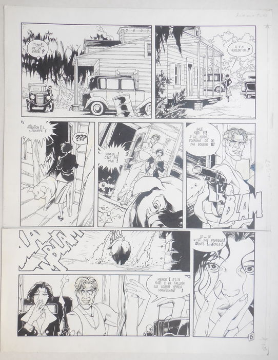Dixie Road 1 by Hugues Labiano - Comic Strip