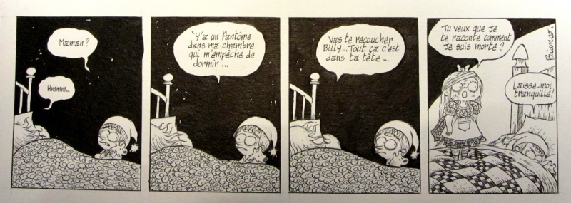 Bianco Guillaume - Billy Brouillard - strip inedit by Guillaume Bianco - Comic Strip