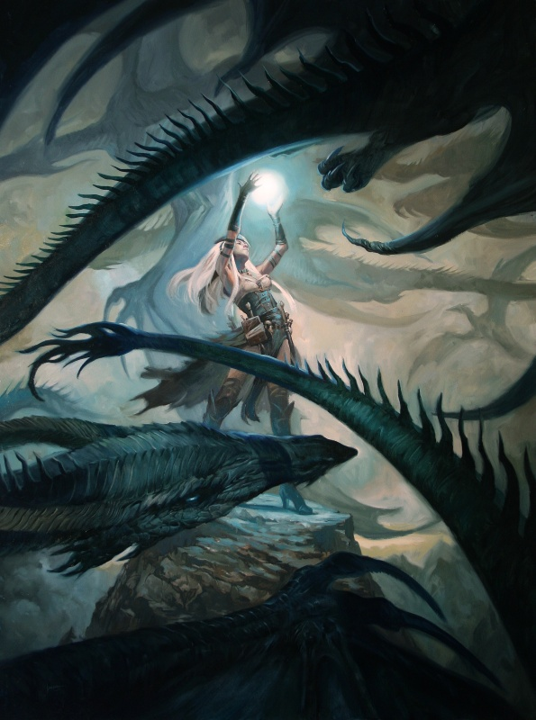 Dragon Swarm by Lucas Graciano - Illustration