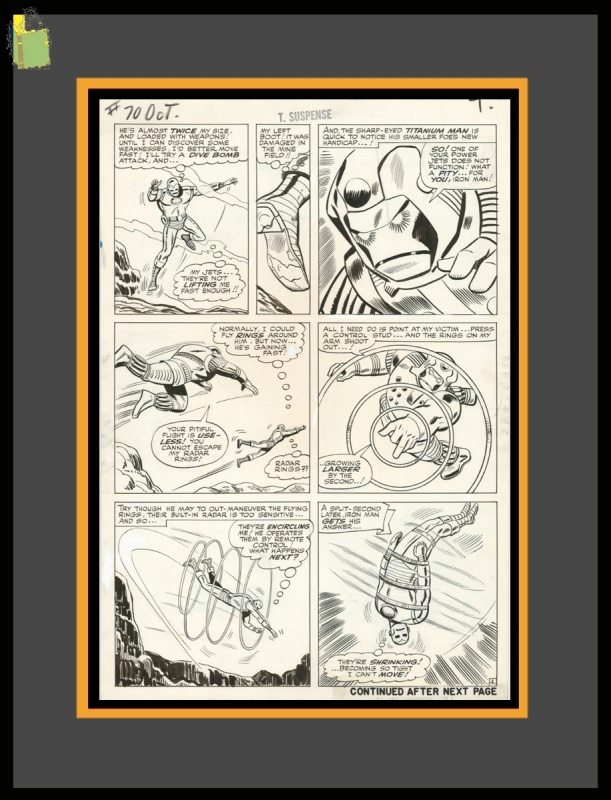 IRON-MAN by Don Heck - Comic Strip