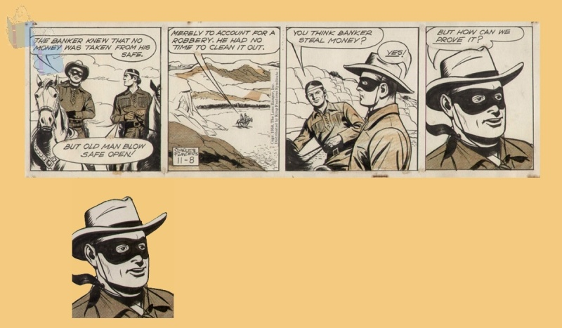 The LONE RANGER by Charles Flanders - Comic Strip