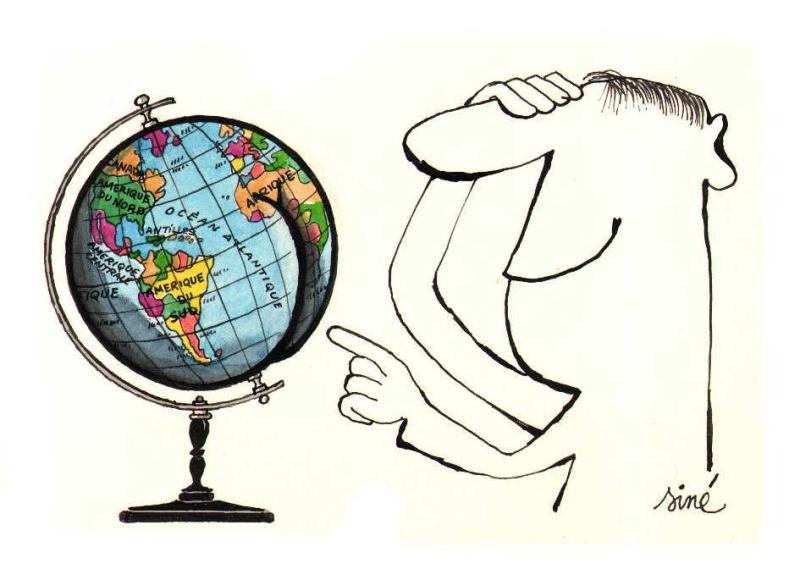 Dessin gag le voyageur par sin illustration - Voyageur dessin ...