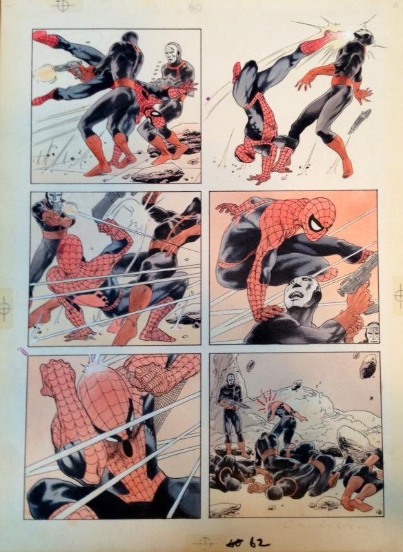 Spider man by Charles Vess - Comic Strip