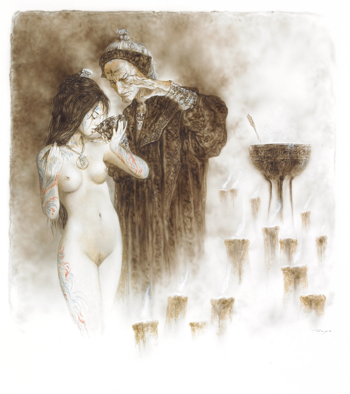 Dead moon - La Pocima by Luis Royo - Comic Strip