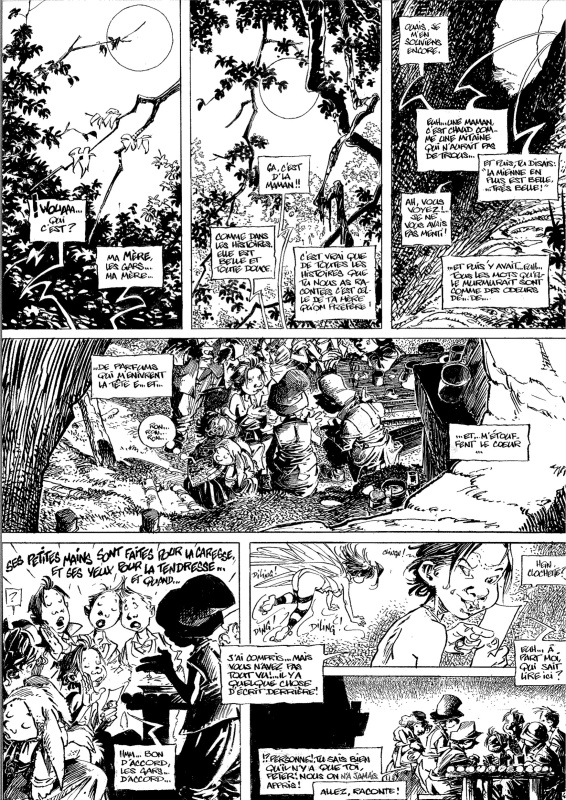 Peter Pan by Régis Loisel - Comic Strip