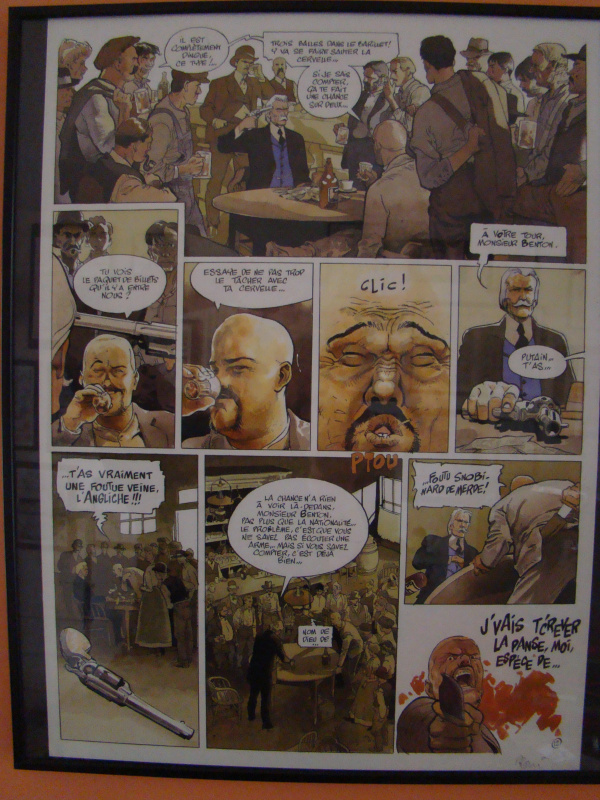 West by Christian Rossi - Comic Strip