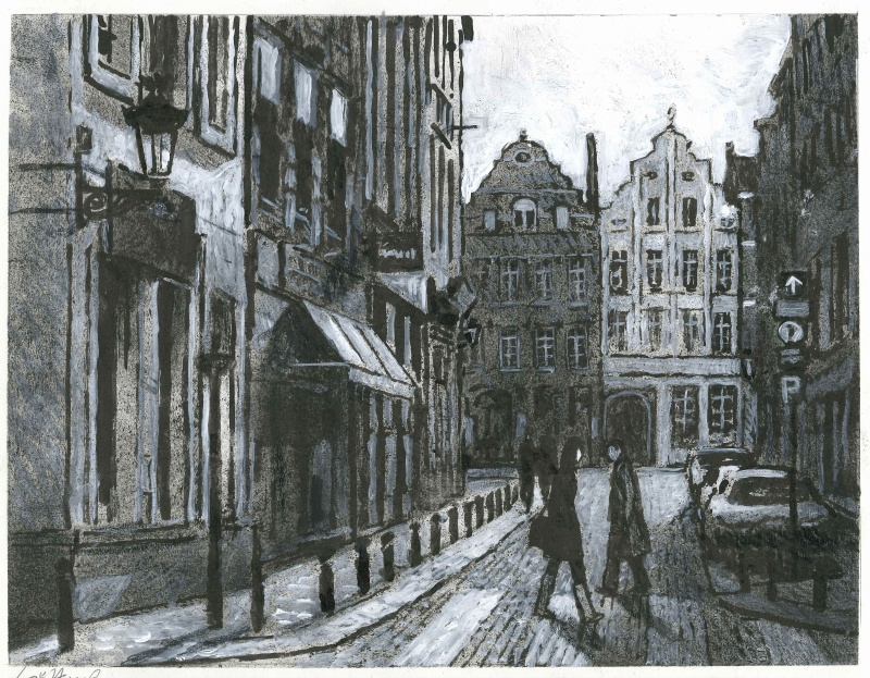 Gotting - Bruxelles by Jean-Claude Götting - Illustration