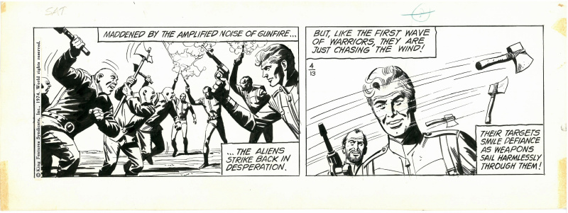 Flash Gordon by Dan Barry, Bob Fujitani - Comic Strip