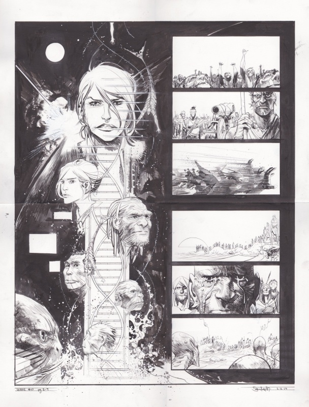 The Wake #10 by Sean Gordon Murphy, Scott Snyder - Comic Strip