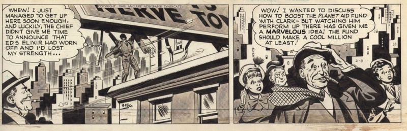 Superman 3 février 1949 by Wayne Boring - Comic Strip